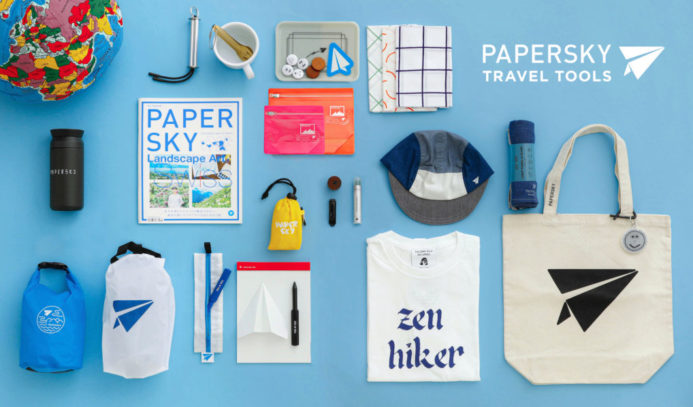 「PAPERSKY」TRAVEL TOOLS